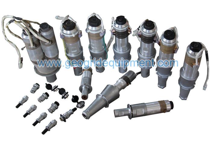 超声波塑料焊接机|钢塑格栅焊接生产线|矿用经编钢塑